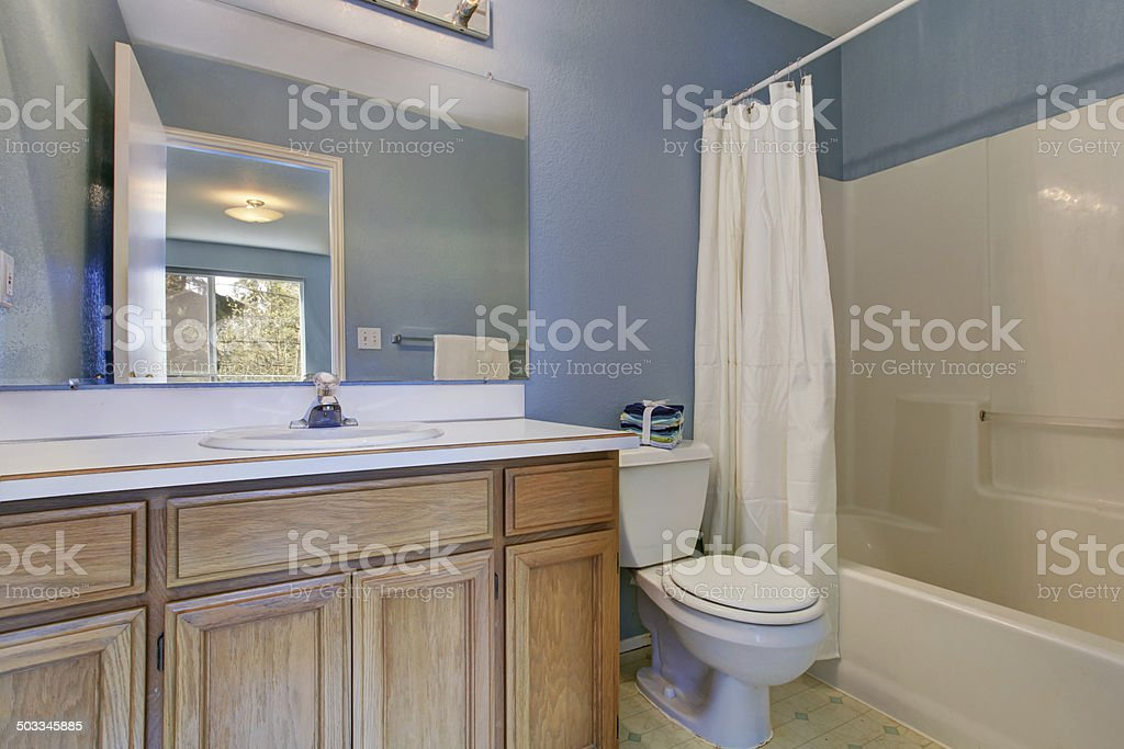 https www istockphoto com fr photo int c3 a9rieur de la salle de bain simple bleu clair gm503345885 44099972