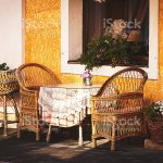 Small Vintage Cafe On European Old City Street Stock Photo Download Image Now Istock
