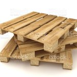 Stack Of Wooden Pallets Stock Photo Download Image Now Istock
