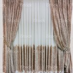 Stylish Interior Design Curtains And Tulle Are Companions Beautiful Floral Ornament On Fabric Stock Photo Download Image Now Istock