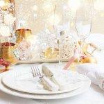 Geschirr Set Fur Weihnachten Stockfoto Und Mehr Bilder Von Dienstleistung Istock
