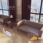 The Interior Of The Large Lobby With Marble Walls In The Hotel Reception Business Background 3d Rendering Stock Photo Download Image Now Istock