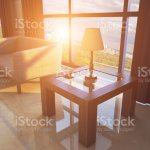 The Interior Of The Large Lobby With Marble Walls In The Hotel Reception Business Background Sunset 3d Rendering Stock Photo Download Image Now Istock