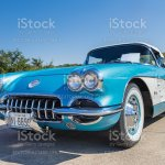 Turquoise 1959 Chevrolet Corvette Convertible Classic Car Stock Photo Download Image Now Istock