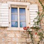 Typical Mediterranean Stone House Beautiful Vintage Window