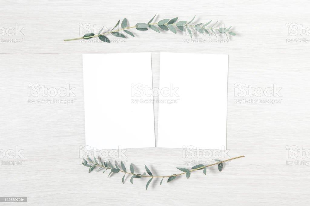 wedding invitation mockup blank invitation card stock photo download image now istock