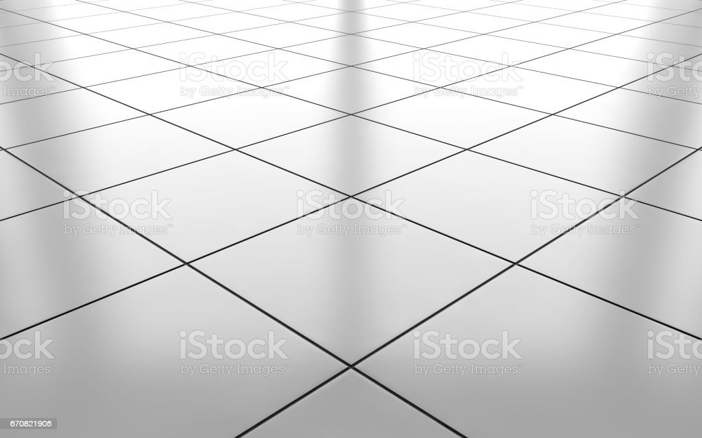 white glossy ceramic tile floor background 3d rendering stock photo download image now istock