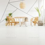 White Living Room Stock Photo Download Image Now Istock