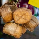 Wickerwork With Bamboo Crafts Local Knowledge In Southeast Asia Stock Photo Download Image Now Istock