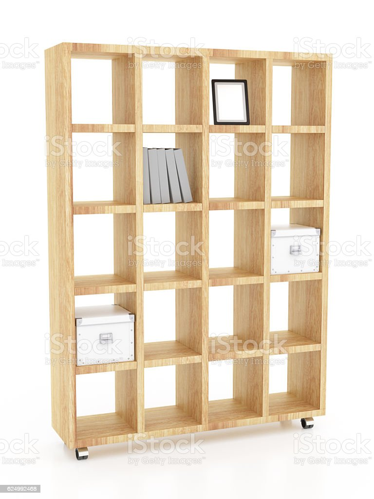 https www istockphoto com photo wooden book rack isolated on white background include clipping gm624992468 109977097