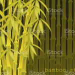 Abstract Background Of Bamboo Trees Bamboo Stalks Vector Illustration Of Tropical Plants For Your Design Stock Illustration Download Image Now Istock