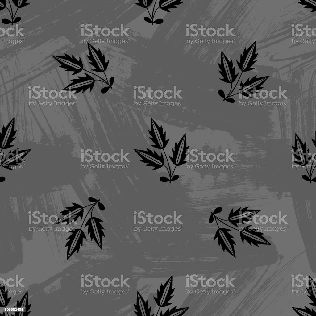 https www istockphoto com fr vectoriel abstrait motif floral sans soudure fond de vecteur scandinaves parfait pour les gm806692458 139382989
