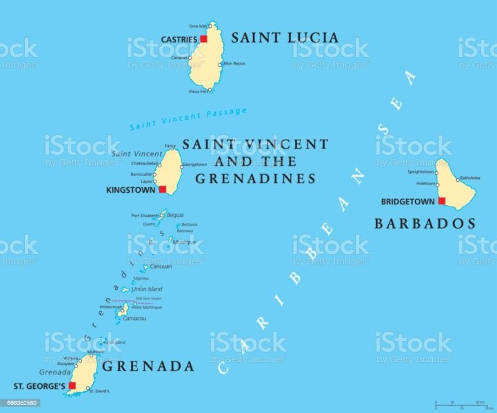 grenada political map » Another Maps [Get Maps on HD] | Full HD ...