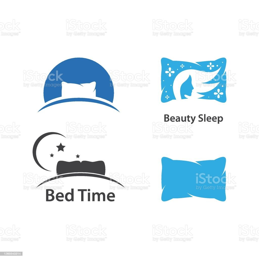 pillow logo vector art icons and graphics for free download