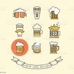 Beer Design For Pub Bar Or Restaurant Stock Illustration Download Image Now Istock