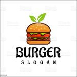 Burger Logo Design Vector Fast Food Restaurant And Cafe Symbol Stock Illustration Download Image Now Istock