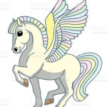 Cartoon Magic Pegasus Stock Illustration Download Image Now Istock