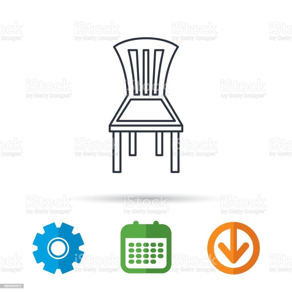 https www istockphoto com fr vectoriel ic c3 b4ne de chaise fond de meubles panneau gm660663622 120555073