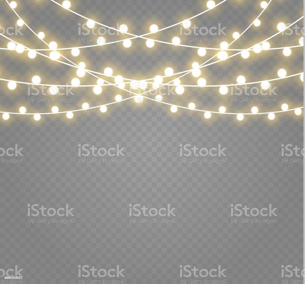 Yellow Christmas Light Bulbs