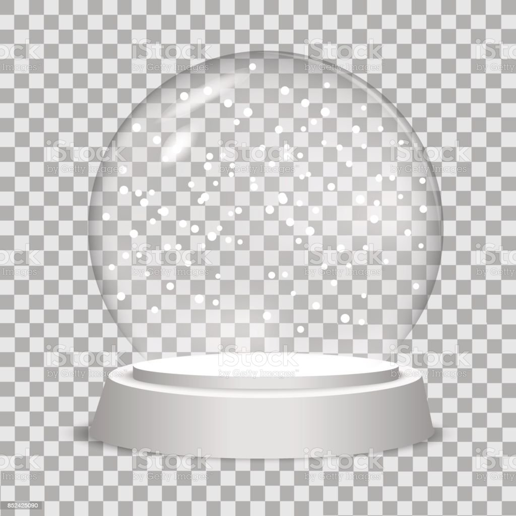 Royalty Free Snow Globe Clip Art Vector Images