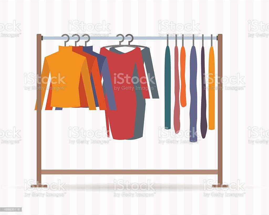 Closet Full Of Clothes Clip Art