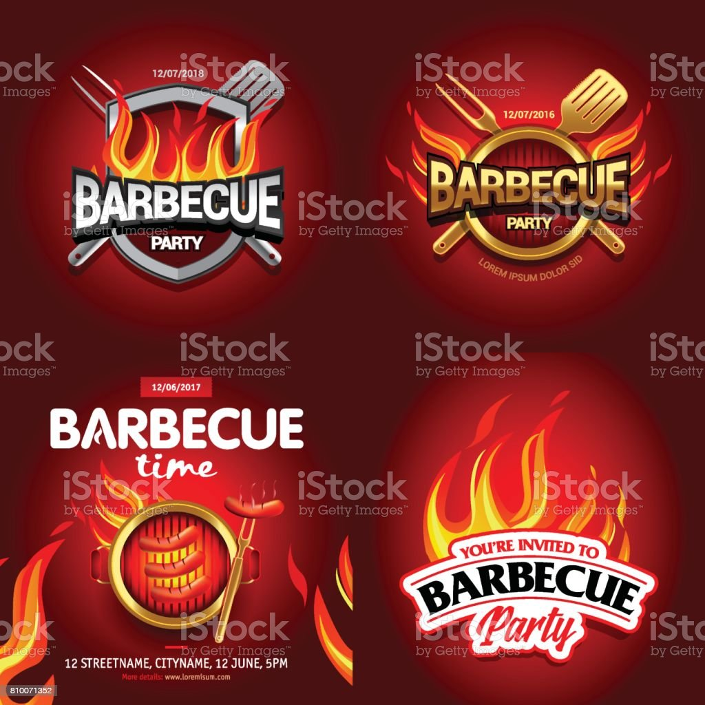 Lovely Bbq Party Invitation Amp Flyer Templates Free Greetings