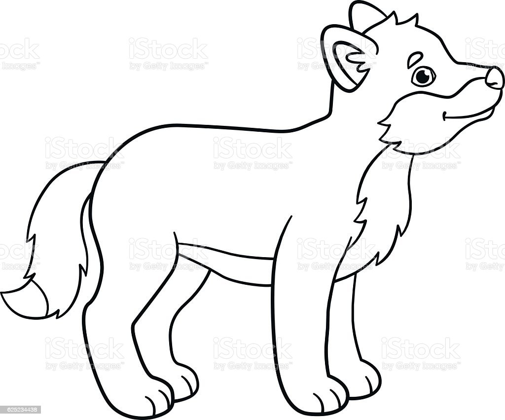 coloring pages baby wolves cooloring com baby wolf coloring pages