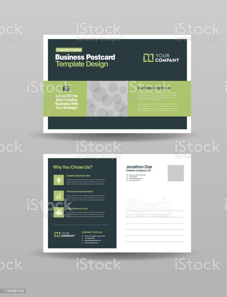 https www istockphoto com fr vectoriel entreprise professionnelle carte postale design conception de cartes d c3 a9v c3 a9nement gm1152267240 312557160