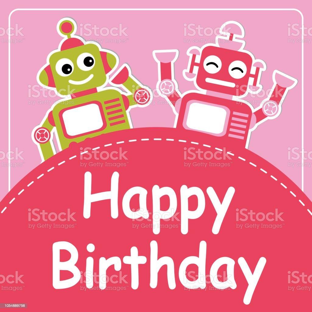 get 35 pink birthday invitation background design