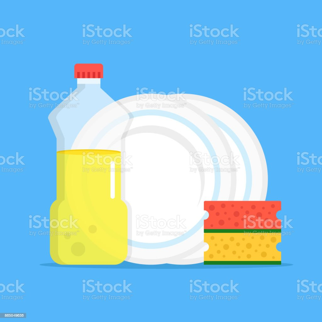 Top 60 Washing Dishes Clip Art Vector Graphics And Illustrations IStock