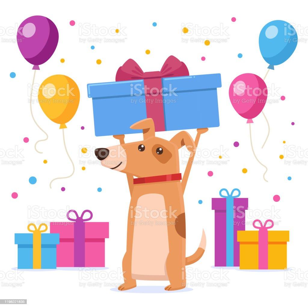 2 190 Dog Birthday Illustrations Clip Art Istock