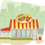 Fast Food Restaurant Stock Illustration Download Image Now Istock