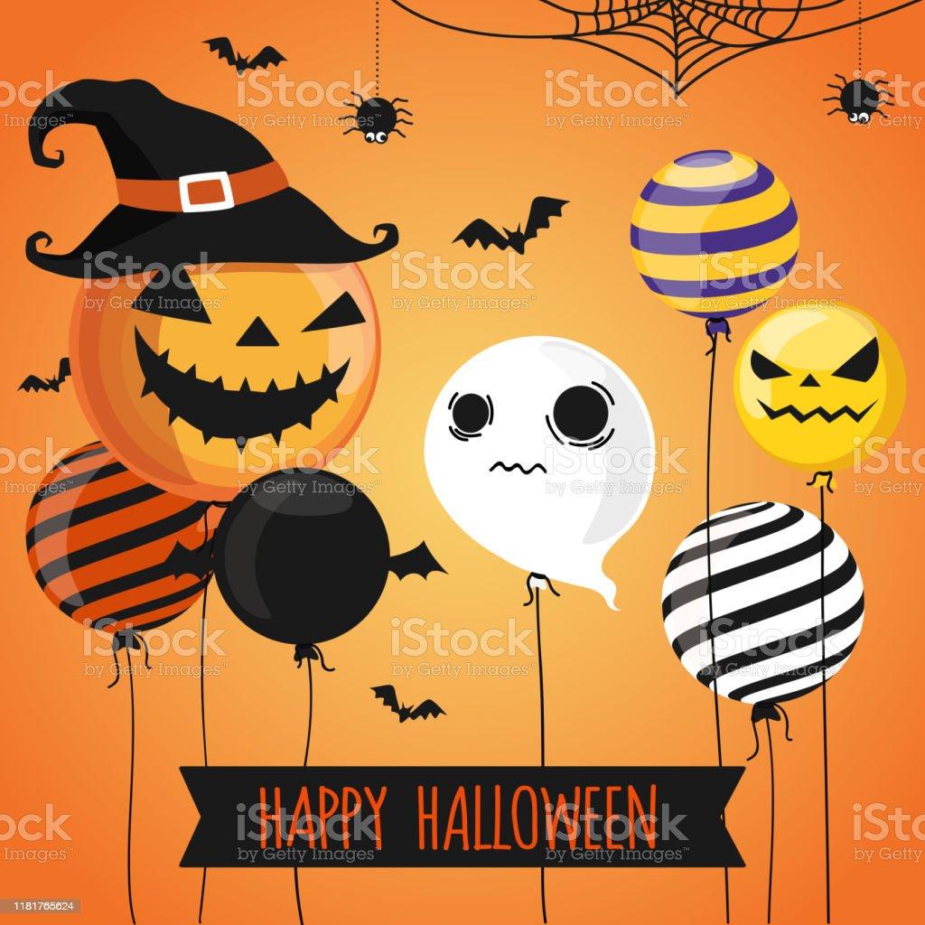https www istockphoto com vector halloween invitation card party design template gm1181765624 331578535