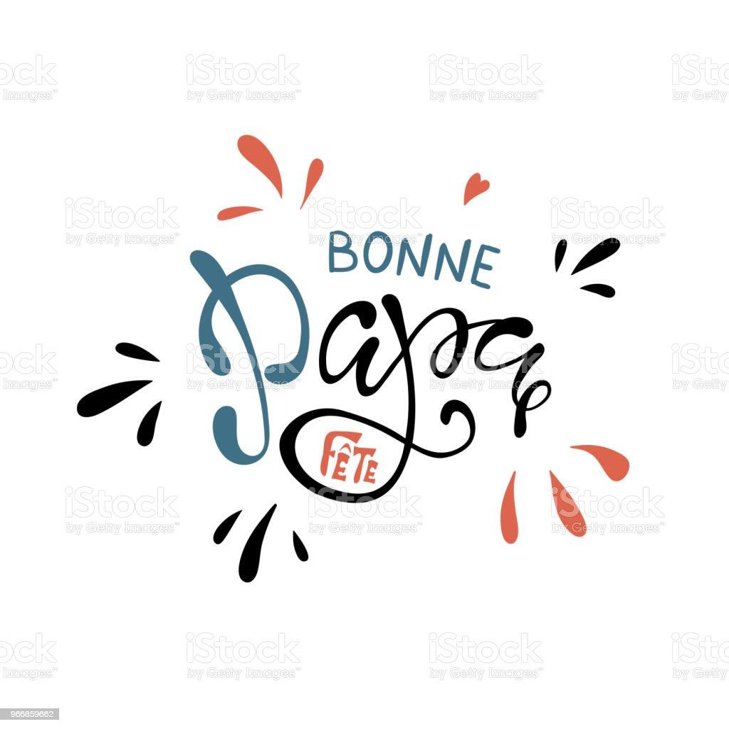 https www istockphoto com de vektor schriftzug vatertag mit herz in franz c3 b6sischer hand bonne fete papa gm966859662 263767659