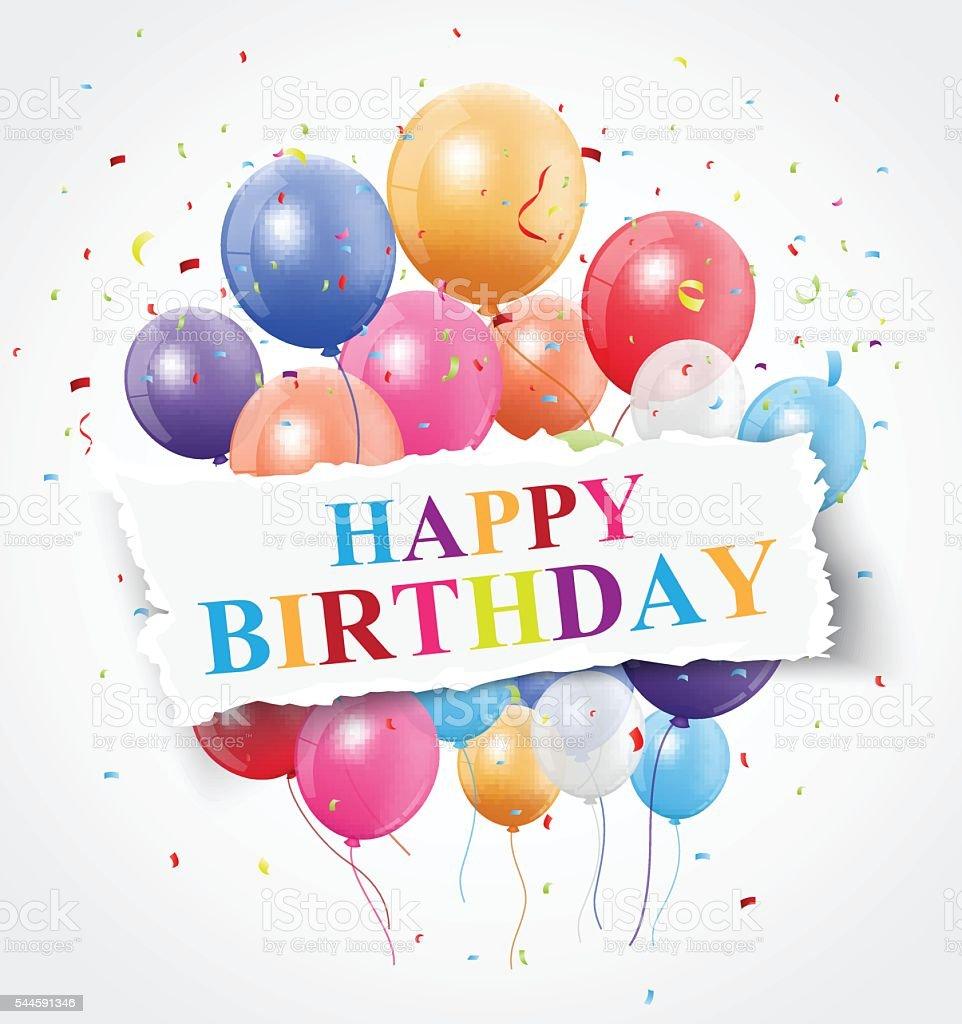 Happy Birthday Greeting Card Design Stock Illustration Download Image Now Istock