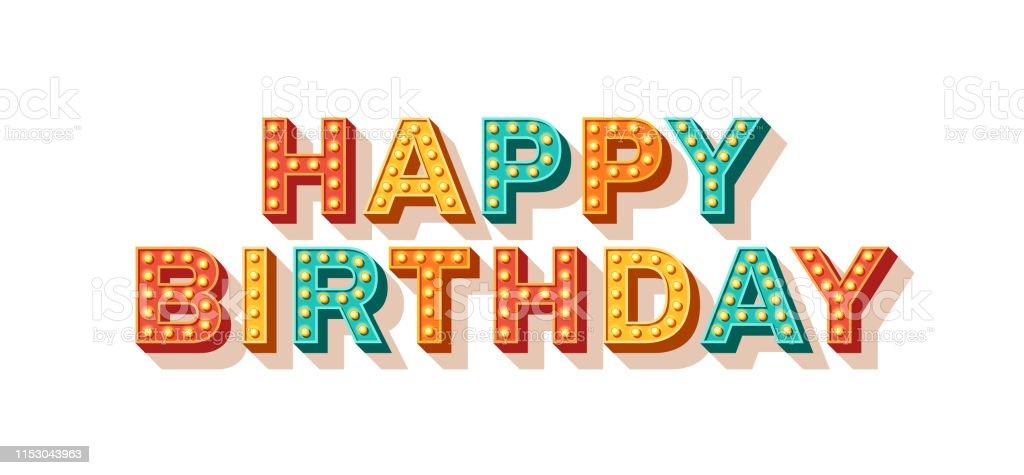 49 166 Happy Birthday Banner Illustrations Clip Art Istock