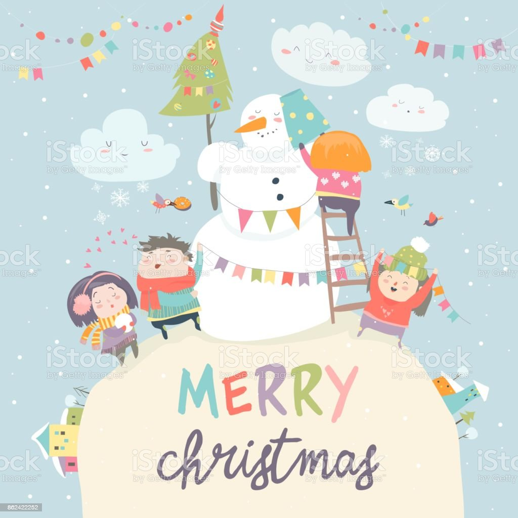 20 Frosty The Snowman Happy Birthday Illustrations Clip Art Istock