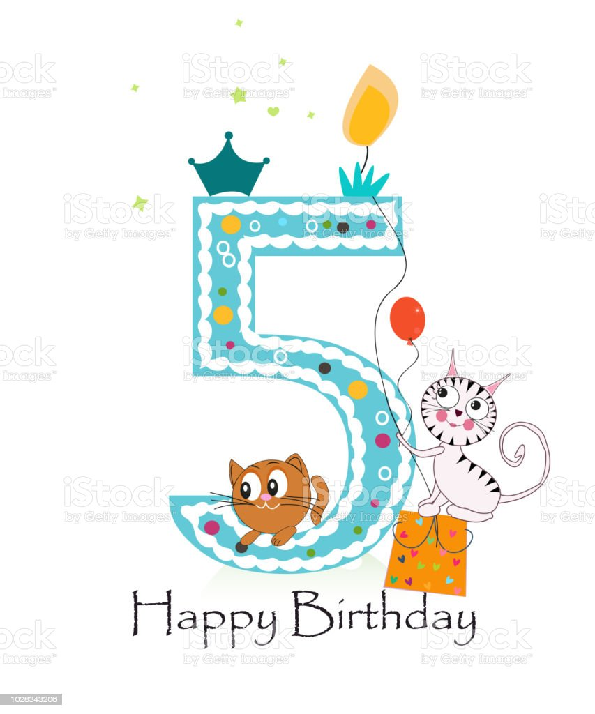 911 Happy 5th Birthday Stock Photos Pictures Royalty Free Images Istock