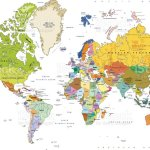 Highly Detailed Political World Map With Capitals And Rivers Stock Illustration Download Image Now Istock
