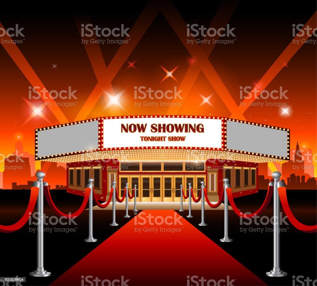 salle de cinema hollywood film tapis rouge vecteurs libres de droits et plus d images vectorielles de canada istock
