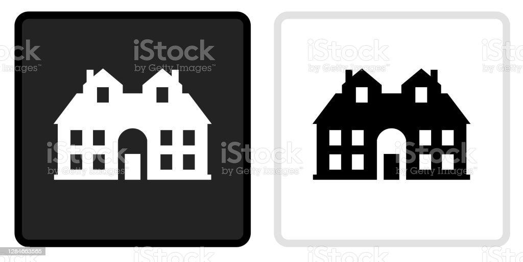 Free Icone De Maison Noir Et Blanc Vector Illustration