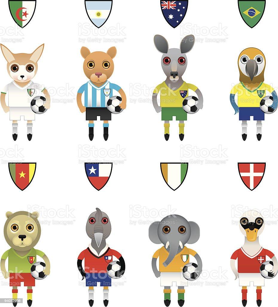 Australia International Soccer Logo