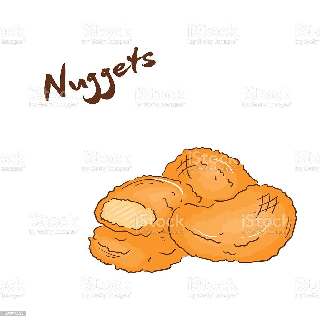Chicken Nuggets Clip Art - Cliparts (1024 x 1024 Pixel)