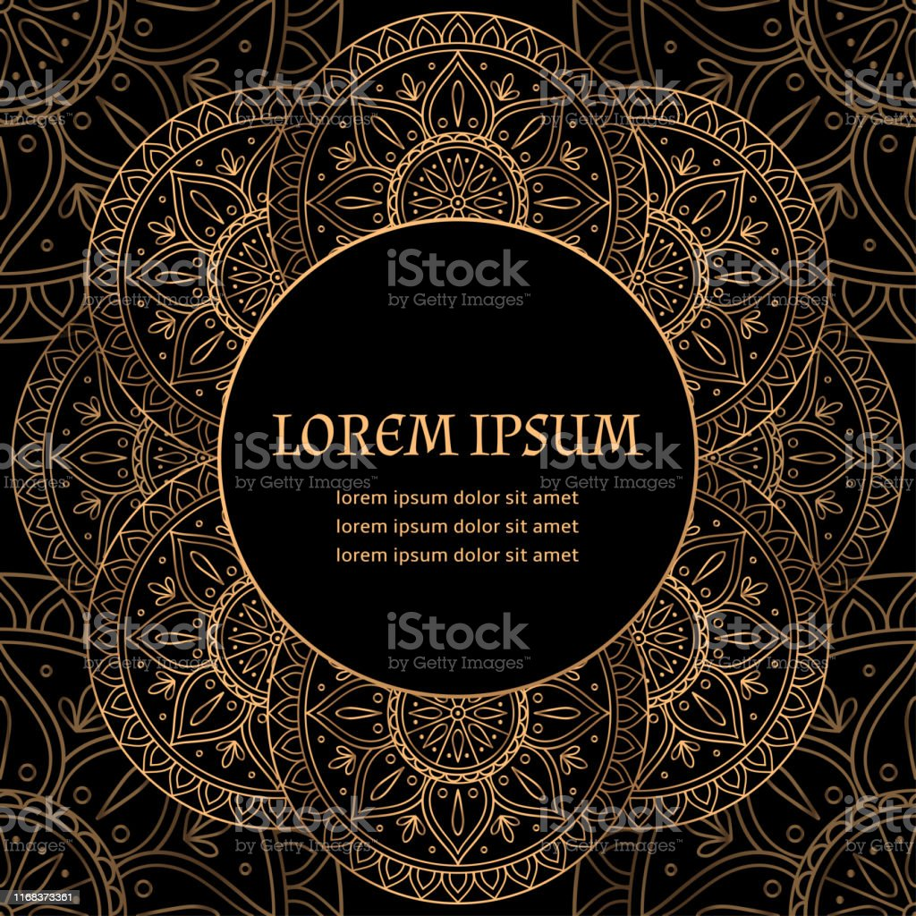 luxury background vector ethnic royal pattern card template new year design for party invitation holiday greeting beauty spa salon christmas decoration wedding save the date birthday stock illustration download image now