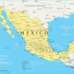 Map Of Mexico Vector Stock Illustration Download Image Now Istock