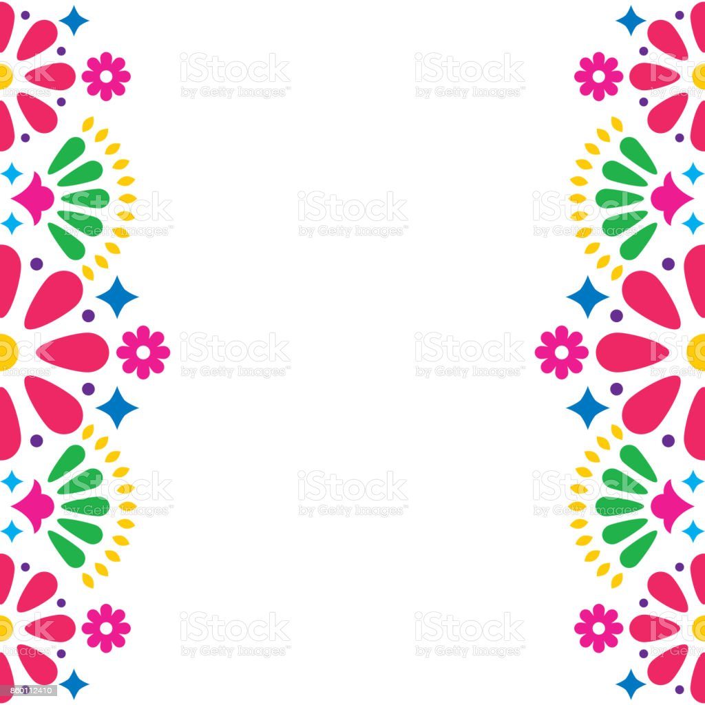 Colorful Folklore Ornament Royalty Free Vector Image