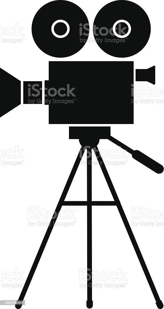 Movie Camera Clip Art, Vector Images & Illustrations - iStock (324 x 612 Pixel)