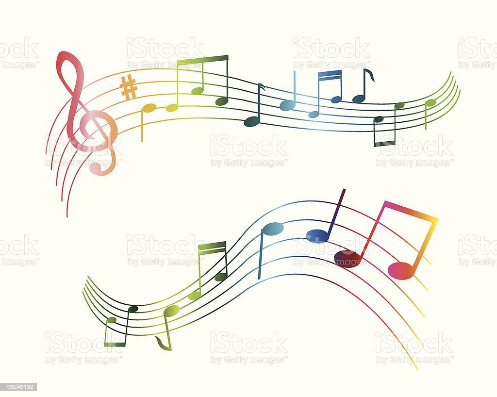https www istockphoto com fr vectoriel s de notes de musique de diff c3 a9rentes couleurs gm96243132 11799644