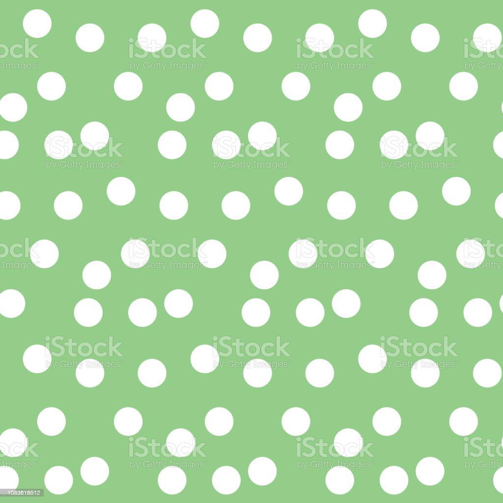 https www istockphoto com fr vectoriel fond vert pastel dispers c3 a9s mod c3 a8le sans couture de polka dots gm1083618512 290701975