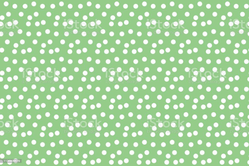 fond vert pastel disperses pois polka motif sans soudure vecteurs libres de droits et plus d images vectorielles de a la mode istock